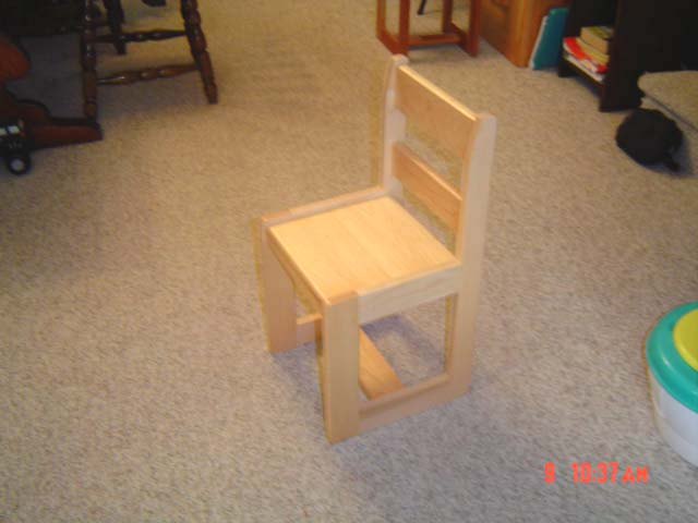 Childrens Maple chair