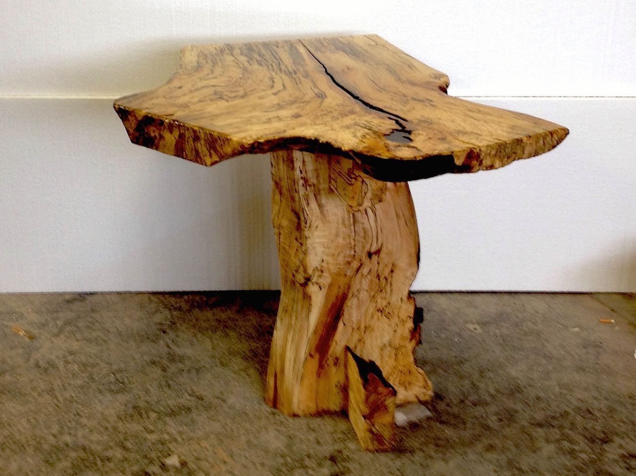 SPALTED Maple Table