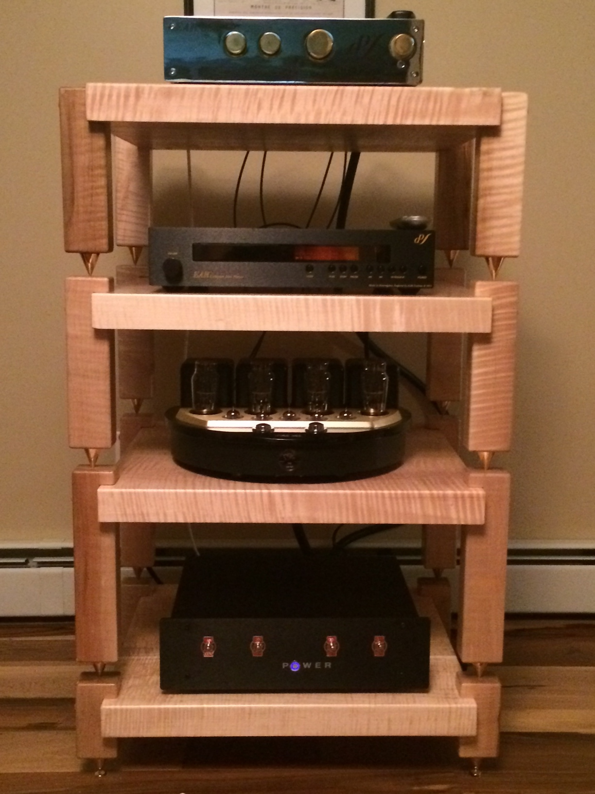 custom high end audio stereo racks amp stands speaker stands and isolation platforms at. Black Bedroom Furniture Sets. Home Design Ideas