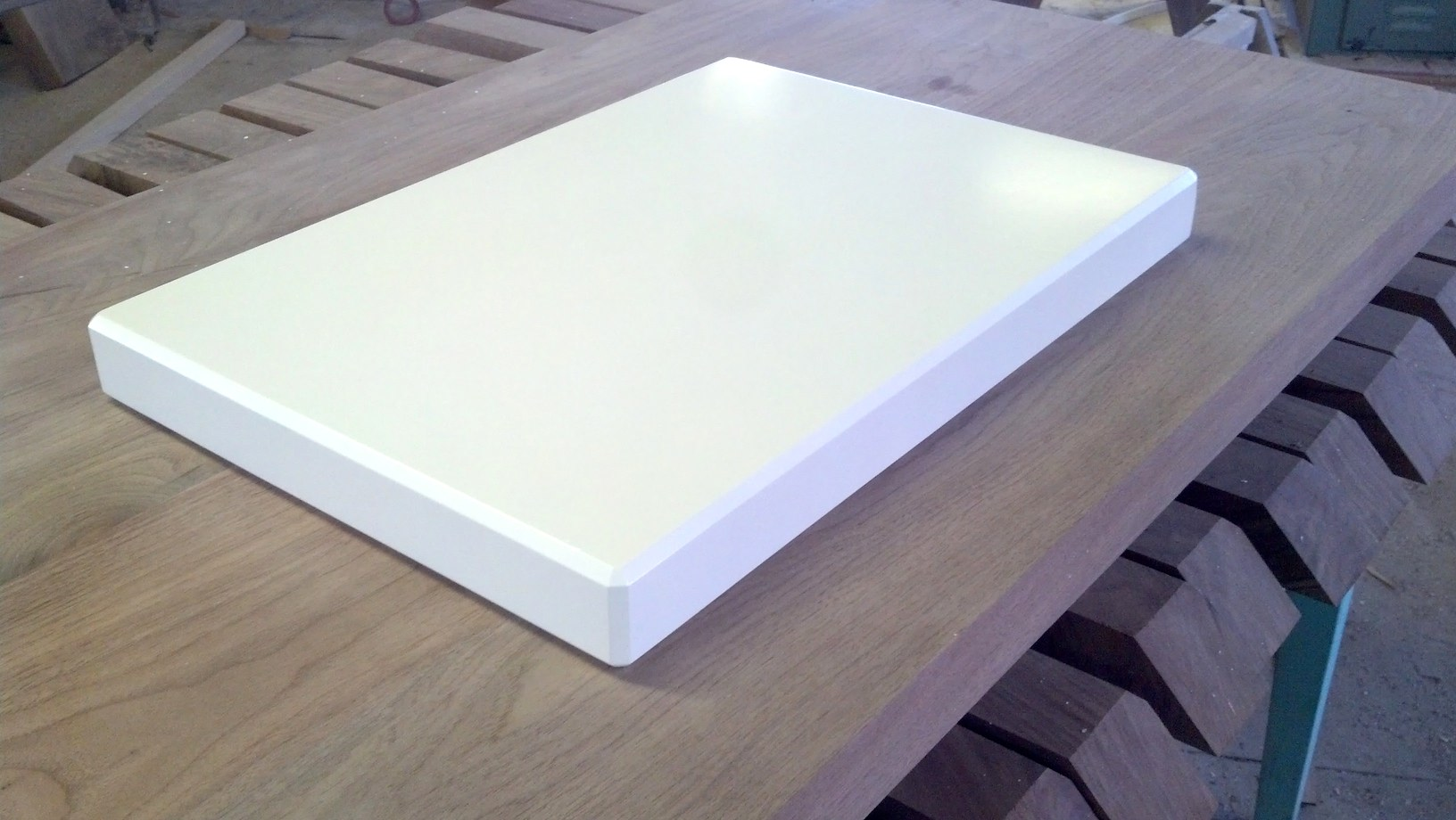 White Lacquer Maple Isolation Platforms