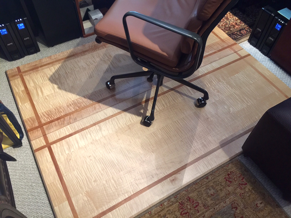 Tiger Maple Floor Mat