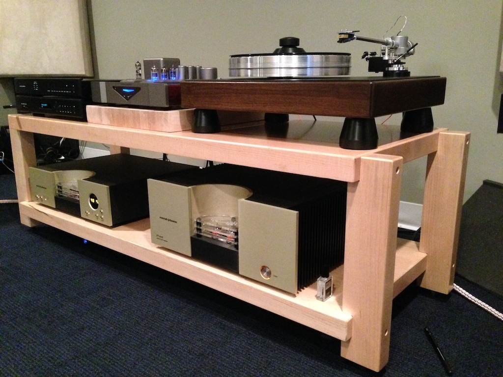 Custom Furniture Hi End Audio Stereo Racks And Isolation